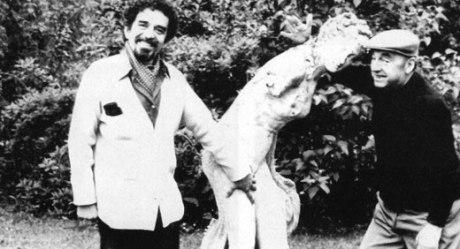 ΓΓΜ και Πάμπλο Νερούδα, 1972. (GARA-Αρχείο)