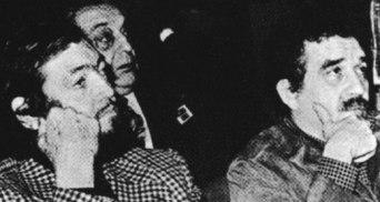 Χούλιο Κορτάσαρ, Μιγκέλ Άνχελ Αστούριας και ΓΓΜ, Δυτική Γερμανία, 1970. (GARA-Αρχείο)