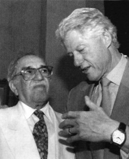 Καρταχένα, Μάρτιος 2007: ΓΓΜ και Μπιλ Κλίντον. (Cesar Carrion / EPA / Corbis)