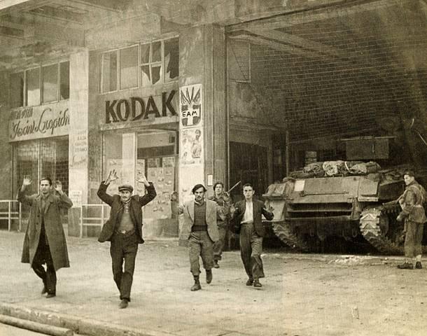 Σύλληψη αμάχων από Βρετανούς